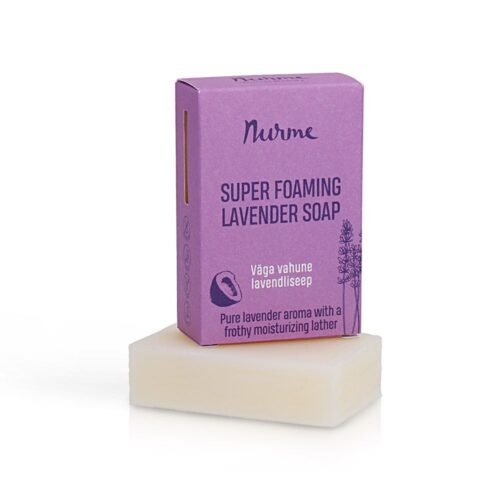 Super foaming lavender soap