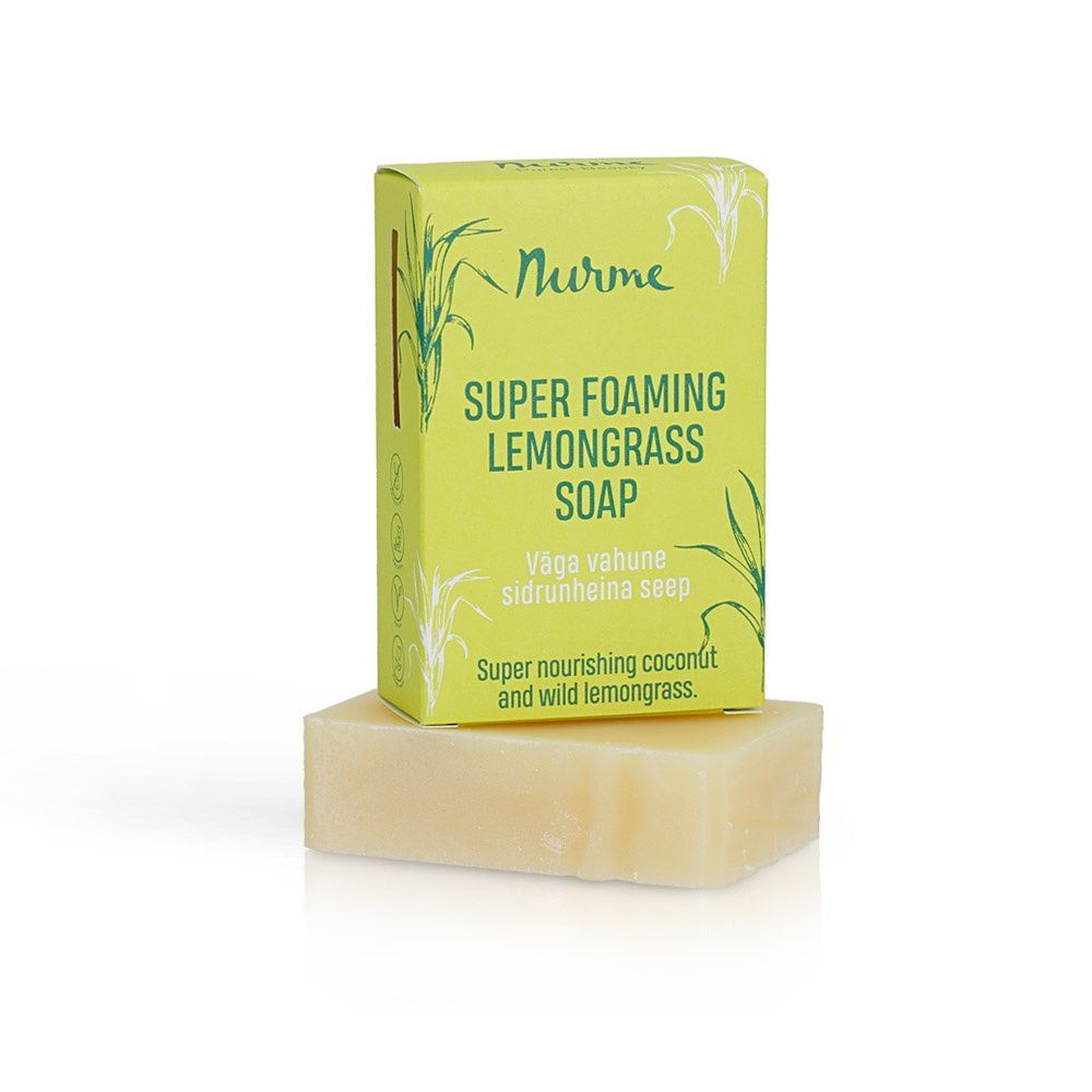Super Foaming Lemongrass Soap