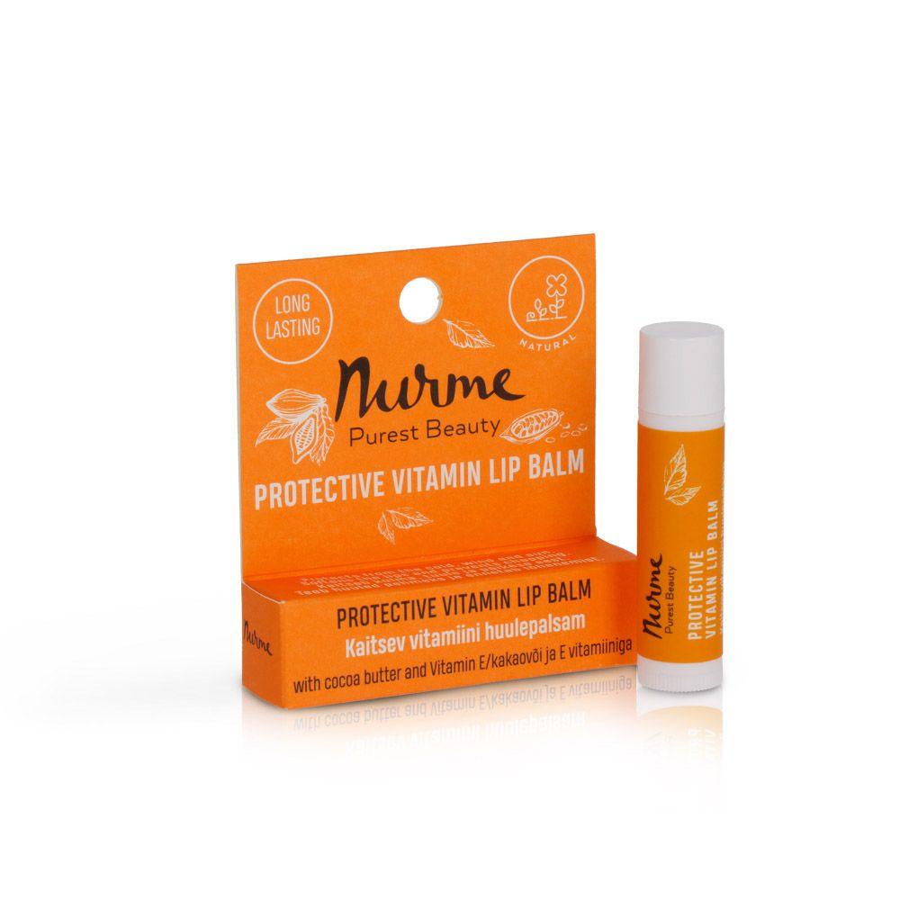 Nurme kaitsev vitamiini huulepalsam