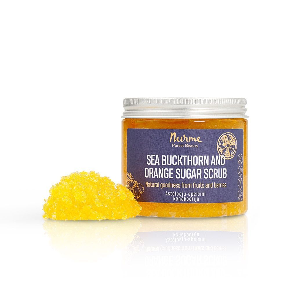 Sea Buckthorn and Orange Sugar Scrub