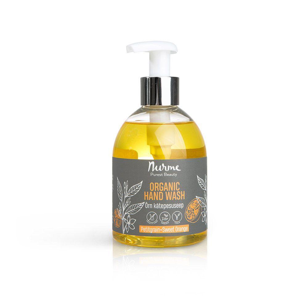Organic Hand Wash Petitgrain & Sweet Orange