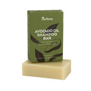 Tahke šampoon avokaadoõliga