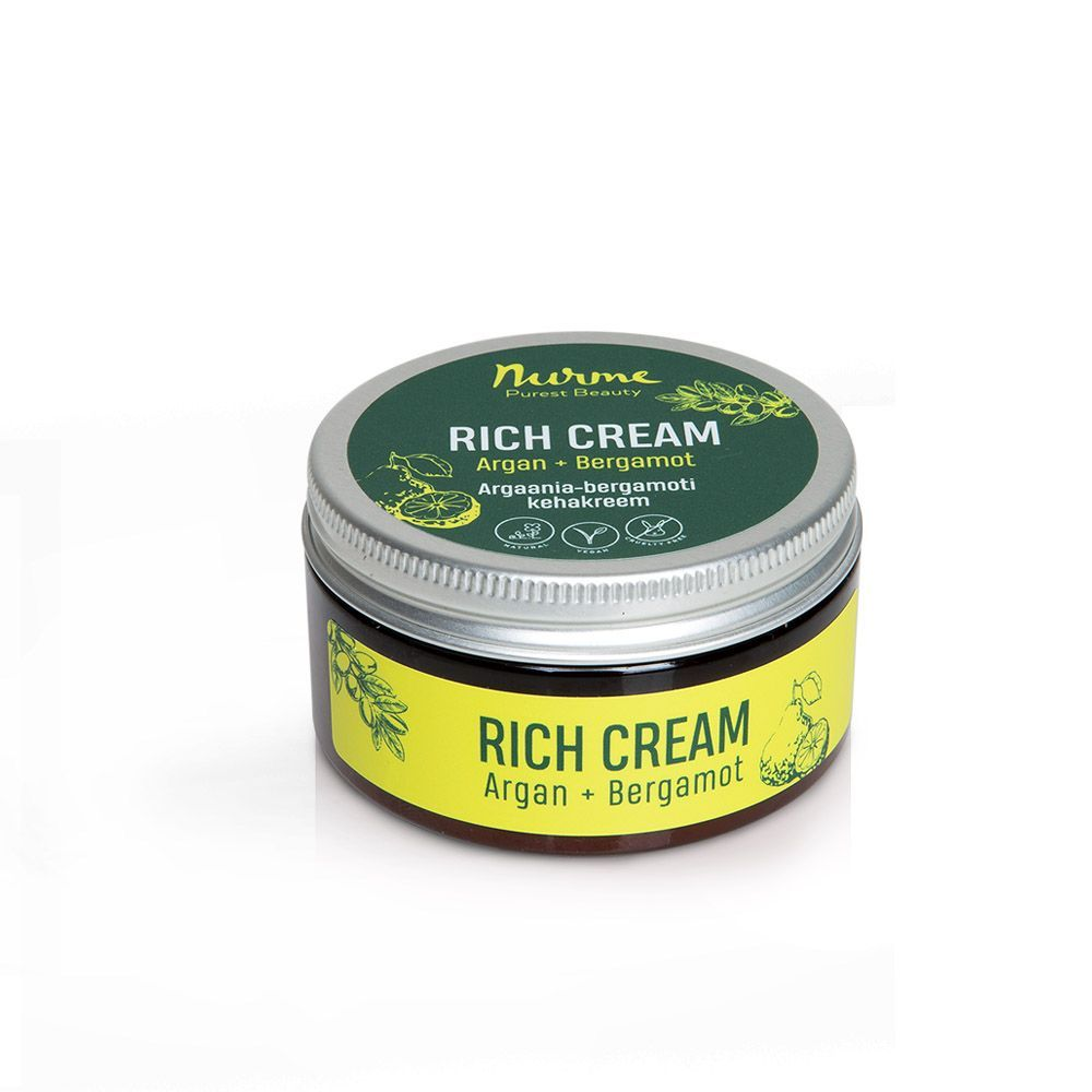 Rich Cream Argan+Bergamot