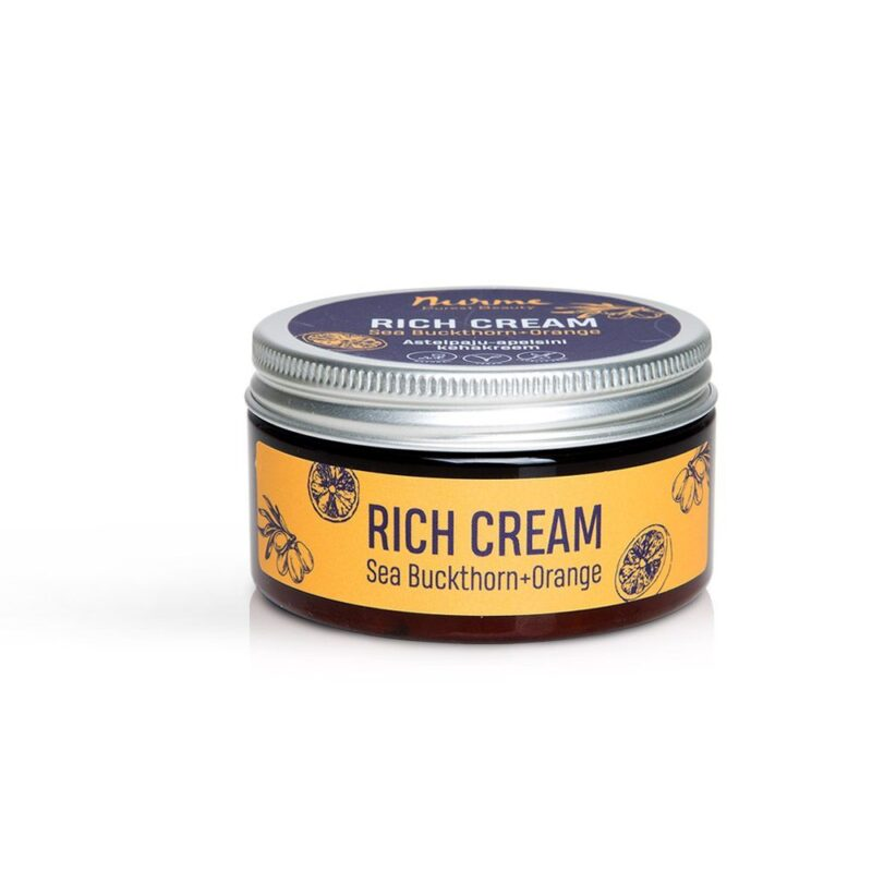 Rich Cream Sea Buckthorn-Orange