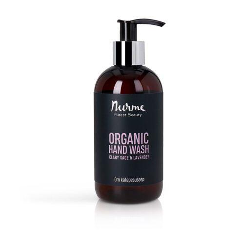 Nurme orgaaniline kätepesuseep lavendel salvei