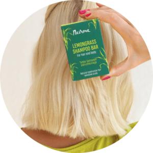 Nurme looduslik sidrunhein tahke šampoon zero waste