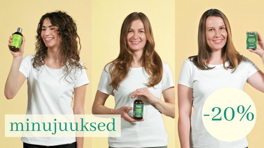 nurme šampoon ja palsam